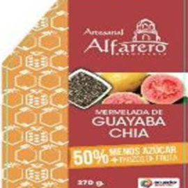 Mermelada de Guayaba con Chia